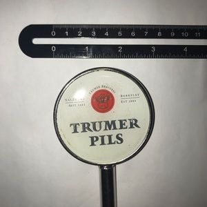 Trumer Other - TRUMER PILS BEER TAP HANDLE